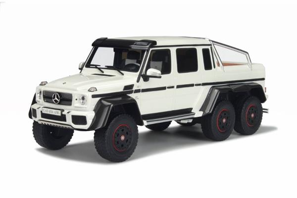 Mercedes Benz G63 AMG 6X6 White 1 18 GT100